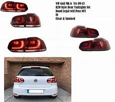 Vw Golf Gti Lights Vw Golf Gtd Gti R20 Rear Tinted Led Lights Golf R Mk6