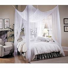 majesty white large bed canopy bed bath beyond