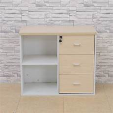 cheap professional modern design wooden office 3 drawer
