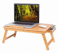 birdrock home bamboo laptop bed tray multi