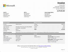 Office 365 Invoice Understand Your Invoice For Office 365 For Business