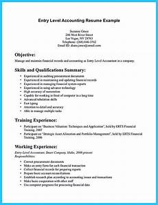 Accounting Objective Resume Sample For Writing An Accounting Resume