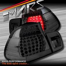 E46 M3 Lights Smoked Black Led Lights For Bmw 3 Series E46 2d Coupe