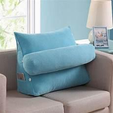 aliexpress buy cotton linen triangular backrest