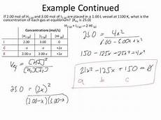 Ice Rating Chart Quadratic Equation Ice Table Equilibrium Calculations