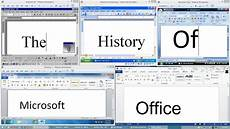Extension Of Ms Word The History Of Microsoft Office Youtube
