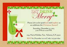 Free Christmas Invitation Templates Word Be Merry Invitation Editable Template Microsoft Word