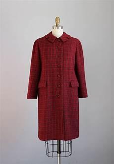 1930s harris tweed grey plaid wool coat plaid wool