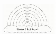 Rainbow Printable Template Rainbow Template Rainbow Pattern Printable Quiet Book