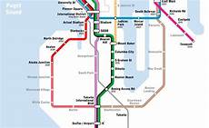 Colombo Light Rail Route Map New Light Rail Map Shows Transit Seattle Only Dreams Of