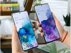 The massive screen on Samsung's new Galaxy S20 Ultra phone