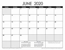 June 2020 Calendar With Holidays 2020 Calendar Templates And Images