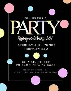 Party Poster Template Copy Of Party Postermywall
