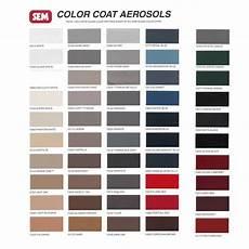 Sem Trim Paint Color Chart Sem Color Coat Color Card Chart For Plastic Amp Vinyl