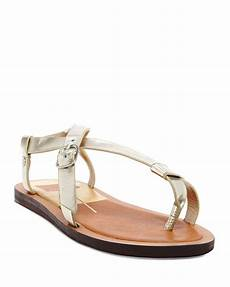 Dolce Vita Light Dolce Vita Flat Sandals Flurera In Gold Light
