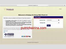 Panduan Web Check In Sriwijaya Air   Putri Chairina