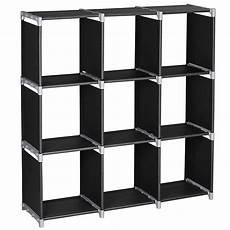 3tier 9 compartment storage cube closet organizer shelf 9