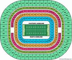 Edward Jones Dome Seating Chart Rows Edward Jones Dome At America S Center Maplets