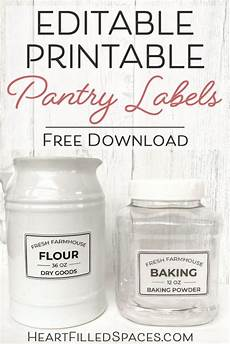From The Kitchen Of Labels Free Editable Printable Kitchen Pantry Labels For Storage