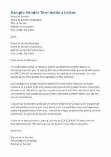 Cancel Contract Letter Template Free 9 Contract Cancellation Letter Samples In Pdf Ms Word