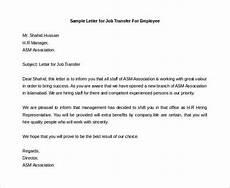 Transfer Letter Sample 44 Transfer Letter Templates Pdf Google Doc Excel