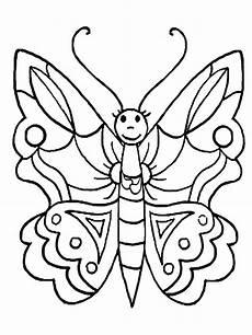 Ausmalbilder Schmetterling Kostenlos Ausdrucken Butterfly Coloring Pages For