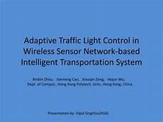 Sensor Based Traffic Light System Ppt Adaptive Traffic Light Control In Wireless Sensor