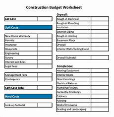 House Building Budget 19 Free House Building Budget Templates Ms Office Documents