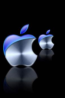 Apple Logo Hd Wallpaper For Iphone by 48 Cool Blue Iphone Wallpapers On Wallpapersafari