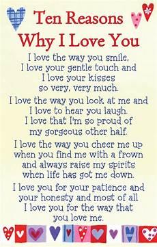 Reasons Why I Love You Why I Love You Heartwarmers Keepsake Credit Card