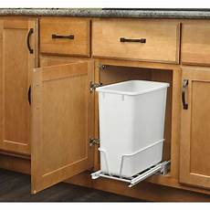 rev a shelf 20 quart plastic pull out trash can at lowes