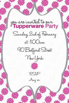 Tupperware Party Invitations Tupperware Party Invitation Created This Invitation Using