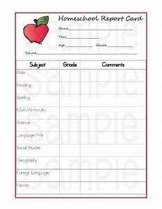 Printable Report Cards 5 Reasons Homeschoolers Should Use Report Cards Printable