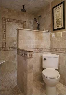 Walk In Shower Ideas For Small Bathrooms Doorless Shower In Small Bathroom Designs For Bathrooms