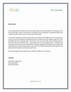 Free Thank You Letter Template Thank You Letter To Boss 8 Plus Best Samples And Templates