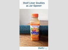 Shelf Liner Doubles as Jar Opener   ThriftyFun