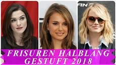trend frisuren damen 2018 mittellang aktuelle frisuren 2018 schulterlang gestuft