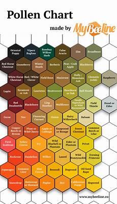 Plant Color Chart Pollen Identification Color Guide Mybeeline