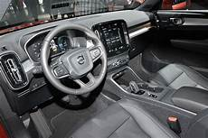 volvo truck 2019 interior l a auto show all new 2019 volvo xc40 launches