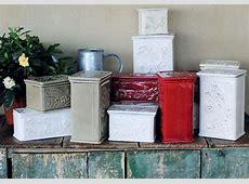 Traditional Salt Box Hand Made Italian Ceramic from