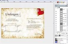 membuat undangan lop membuat desain undangan dengan gimp ayuk berbagi