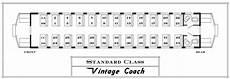 Train Seating Chart Standard Durango Amp Silverton Narrow Gauge Railroad Train