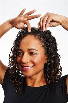 hair curly how to get big hair curly hair styling tips popsugar