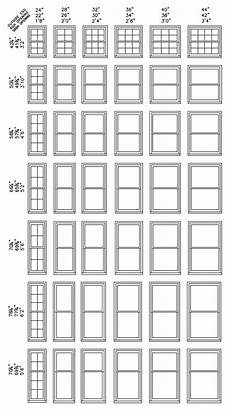 Standard Replacement Window Size Chart Standard Window Size Chart Window Sizes Chart Double