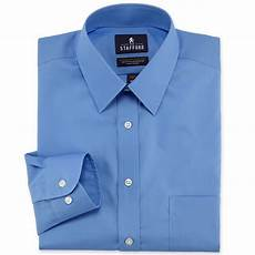 Jcpenney Stafford Shirt Size Chart Stafford 174 Easy Care Broadcloth Dress Shirt