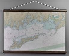 Chart House Narragansett Ri Ct Ny Fishers Island Sound Ri Ct Ny Nautical Wall