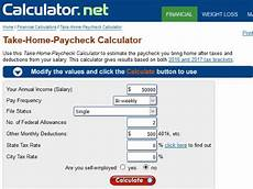 Tax Off Paycheck Calculator 5 Free Salary Calculator Websites With State Tax Calculations