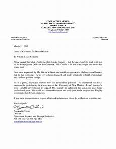 Recommendation Letter Signature Letter Of Reference 3 21 Signed