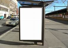 Bus Stop Poster Template Outdoor Bus Stop Poster Mockup One Pitchstock