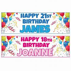 Create A Birthday Banner Buy 1 Get 1 Free Large Personalised Birthday Banners